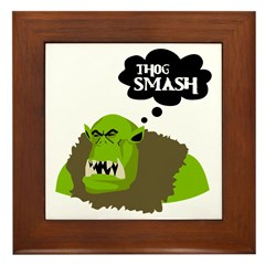 Thog Smash Framed Tile