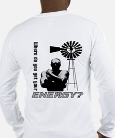 ZEPHYR ENERGY Long Sleeve T-Shirt