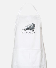 I Survived Foot Surgery! BBQ Apron