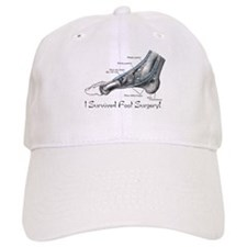 I Survived Foot Surgery! Baseball Cap