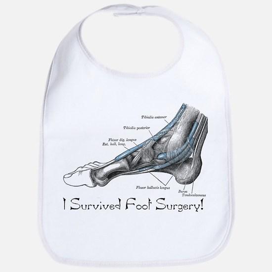 I Survived Foot Surgery! Bib