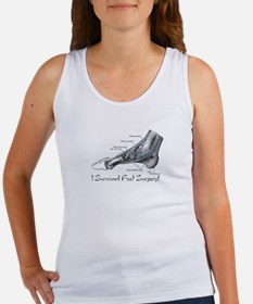 I Survived Foot Surgery! Women's Tank Top