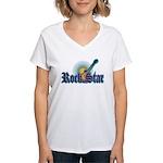 Rock Star Women's V-Neck T-Shirt