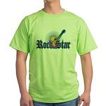 Rock Star Green T-Shirt
