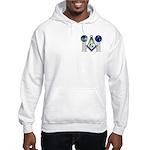 Masonic Columns (color) Hooded Sweatshirt