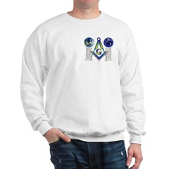 Masonic Columns (color) Sweatshirt
