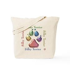 Silky Name2 Tote Bag