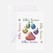 Silky Name2 Greeting Card