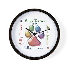 Silky Name2 Wall Clock
