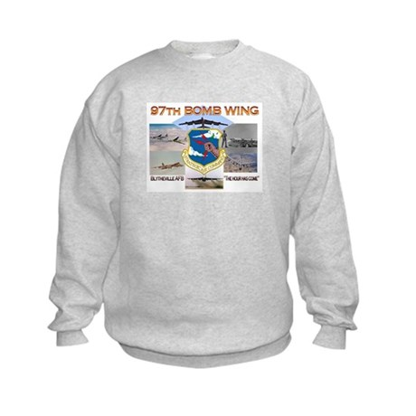 97th - Blytheville AFB Kids Sweatshirt