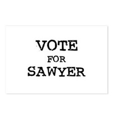 Vote for Sawyer Postcards (Package of 8)