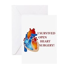 I Survived Heart Surgery! Greeting Card