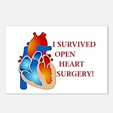 I Survived Heart Surgery! Postcards (Package of 8)