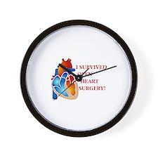 I Survived Heart Surgery! Wall Clock