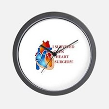 I Survived Heart Surgery! Wall Clock