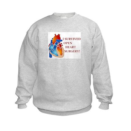 I Survived Heart Surgery! Kids Sweatshirt