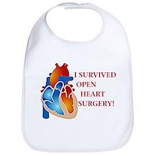 I Survived Heart Surgery! Bib