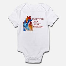 I Survived Heart Surgery! Infant Bodysuit
