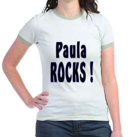 Paula Rocks ! Jr. Ringer T-Shirt