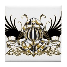 Golden Knight Tile Coaster