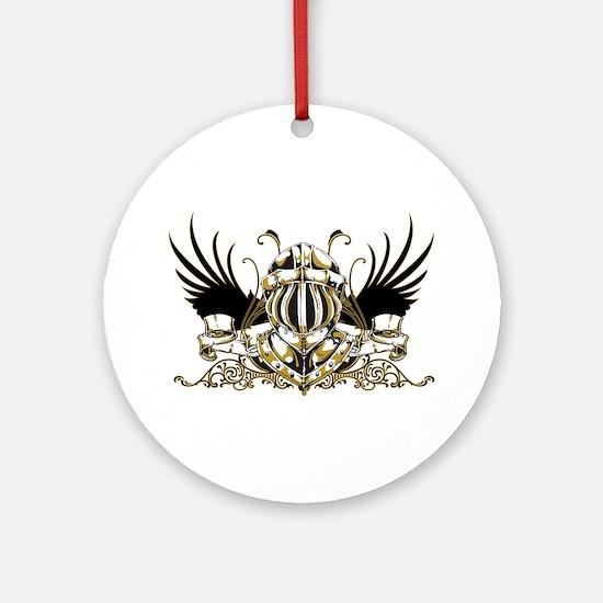 Golden Knight Ornament (Round)
