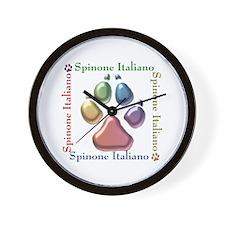 Spinone Name2 Wall Clock