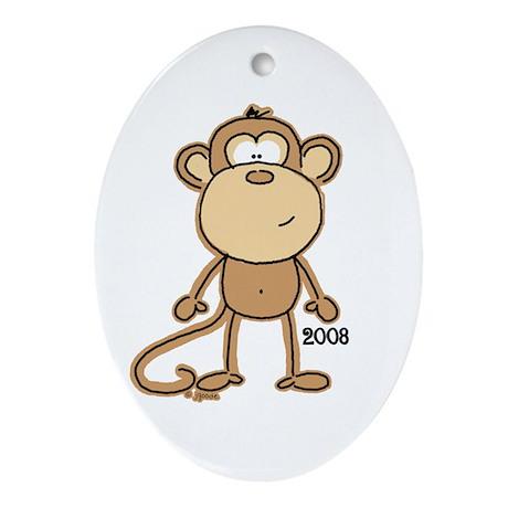 Lil' MOnkey 2008 ornament by JGoode