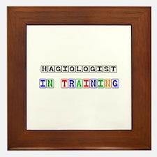 Hagiologist In Training Framed Tile