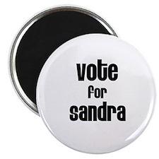 """Vote for Sandra 2.25"""" Magnet (10 pack)"""