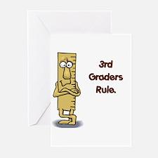 3rd Graders Rule Greeting Cards (Pk of 20)
