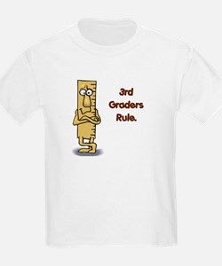 3rd Graders Rule T-Shirt