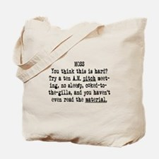 10 AM Pitch Meeting Tote Bag