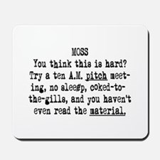 10 AM Pitch Meeting Mousepad