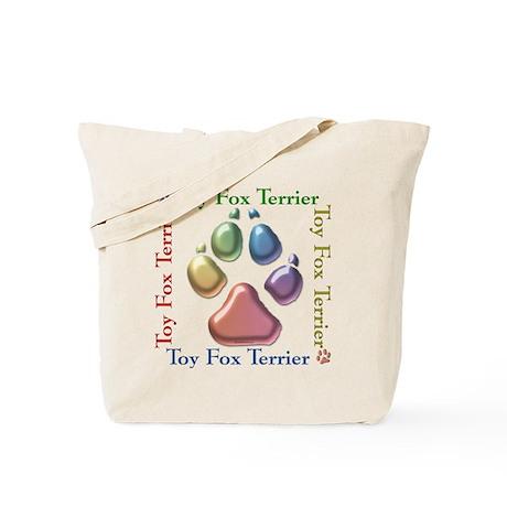 Toy Fox Name2 Tote Bag