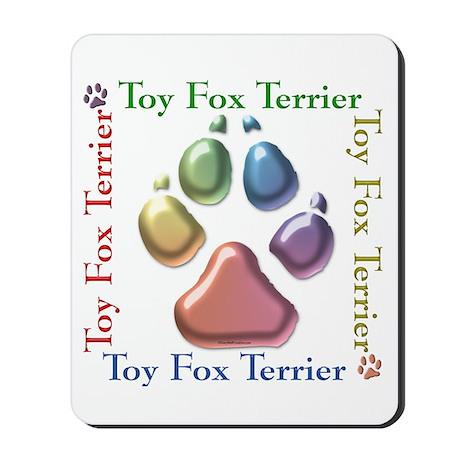 Toy Fox Name2 Mousepad
