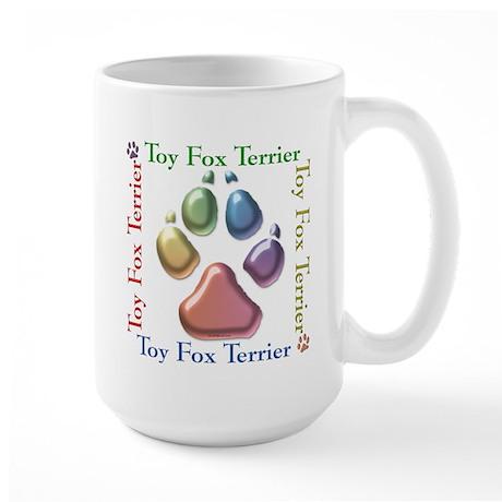 Toy Fox Name2 Large Mug