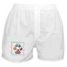 Tibetan Terrier Name2 Boxer Shorts