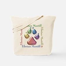 Tibetan Mastiff Name2 Tote Bag
