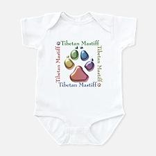 Tibetan Mastiff Name2 Infant Bodysuit