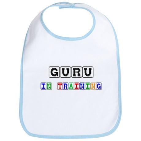 Guru In Training Bib
