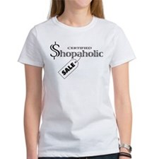 Shopaholic Tee