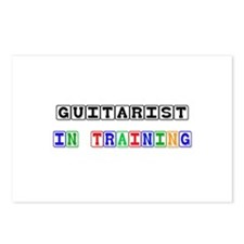Guitarist In Training Postcards (Package of 8)