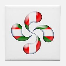 Basque Candy Tile Coaster