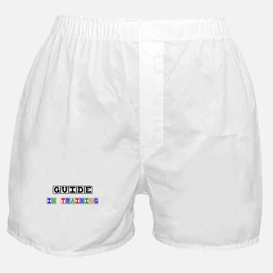 Guide In Training Boxer Shorts