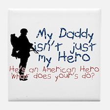 Unique Military kids Tile Coaster