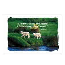 The LORD is my Shepherd Postcards (Package of 8)