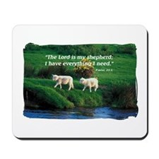 The LORD is my Shepherd Mousepad