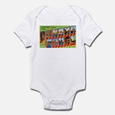 Panama Canal Greetings Infant Bodysuit