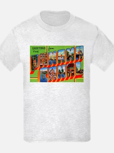 Panama Canal Greetings T-Shirt