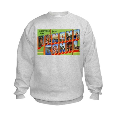 Panama Canal Greetings Kids Sweatshirt